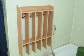 Корпусная мебель Вешало для полотенец на 5 секций за 1 403 руб