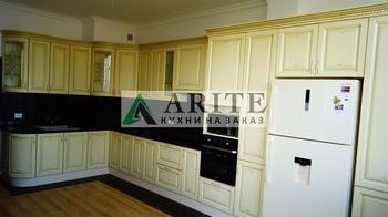 Кухонные гарнитуры Кухня в классическом стиле. Слоновая кость в золотой патине за 18 000 руб