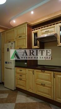 Кухонные гарнитуры Кухни Аритэ. МДФ в патине. арт 61 за 18 000 руб