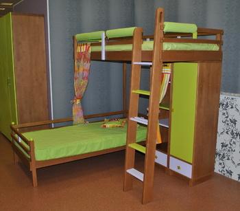 Комплект мебели Комплект мебели для двоих детей за 59 940 руб