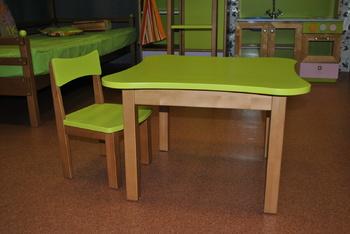 Детские столы Столик со стульчиком 1 ростовая группа за 4 660 руб