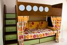 Кровать морская с лестницей