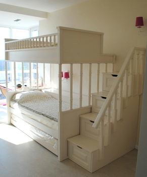 Детские кровати Кровать 3-х спальная с лестницей за 125 500 руб