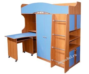 Корпусная мебель Детская Дуэт со столом - 2 за 12 500 руб