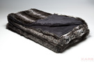 Blanket Fur Stripes Triple 152x127cm