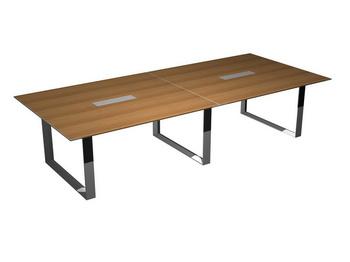 Столы для переговоров Стол для переговоров опоры - замкнутый контур, ноги-хром за 209 930 руб