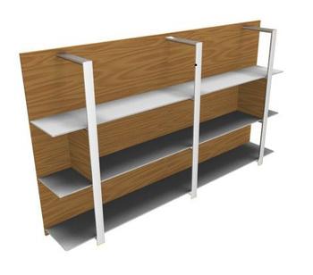 Мебель для персонала Буазери рама белая/матовая белая/темно-серая за 112 328 руб