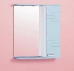 Зеркала МЕЛОДИЯ 60С Зеркало-шкаф голубое за 3 780 руб