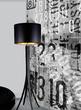 Светильник напольный Graf F BK, черный за 24800.0 руб
