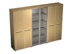 Офисная мебель Шкаф комбинированный (закрытый - стекло - одежда) за 99844.0 руб