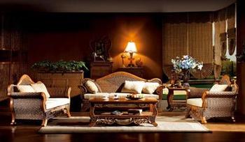 """Комплекты мягкой мебели Комплект мебели из ротанга """"Цезарь"""" за 154 500 руб"""