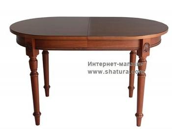 Раскладные столы КОРСИКА Стол овальный раскаладной 1300х800 +480мм за 35 680 руб