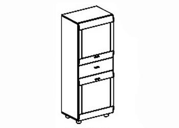 Гостиные Шкаф для белья за 8 358 руб