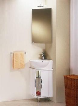 Шкафы Дельта шкаф навесной с зеркалом угловой за 6 900 руб