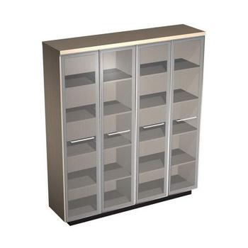 Мебель для персонала Шкаф для документов со стеклянными высокими дверьми за 92 444 руб