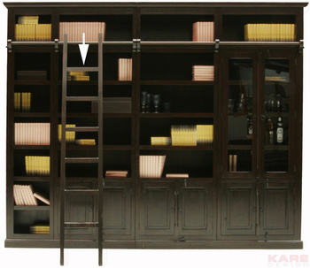 Кабинет/Библиотека Шкаф библиотечный Cabana с дверцами за 66 000 руб