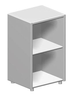 Мебель для персонала Стеллаж низкий, узкий за 8 013 руб