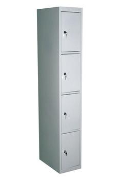 Сейфы и металлические шкафы Шкаф для личных вещей 1-секционный ШСМ-14 зм, основная секция за 5 273 руб