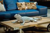 Фигура декоративная Lizard Silver Deluxe за 16700.0 руб
