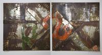 Картины, панно Картина Iron Painting 120x120 в ассортименте за 35600.0 руб