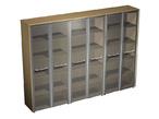 Офисная мебель Шкаф для документов со стеклянными дверьми за 137777.0 руб