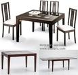 Столы и стулья Стол обеденный трансформер Benson 120 венге за 23590.0 руб