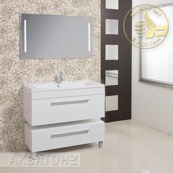 Зеркала Зеркало-шкаф-светильник Мадрид 120 за 13 400 руб