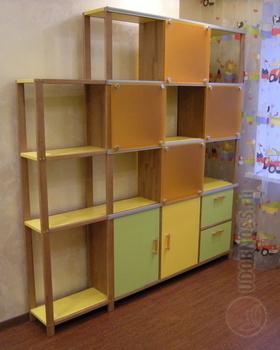 Корпусная мебель Стеллаж угловой за 42 380 руб