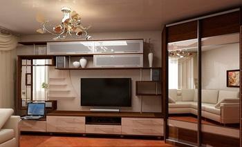 Гостиные любая корпусная мебель на заказ за 8 500 руб