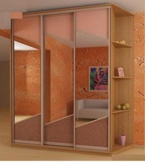 Корпусные шкафы-купе Корпусный шкаф-купе (комбинированные двери) за 19 800 руб