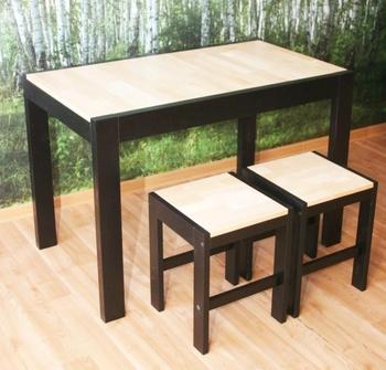 Обеденные столы Стол Черно-белый за 7 125 руб