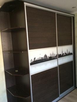 Корпусные шкафы-купе Шкаф купе комбинированный за 13 000 руб