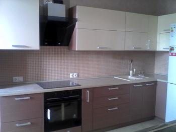 Кухонные гарнитуры Кухня угловая в спокойных тонах за 13 000 руб