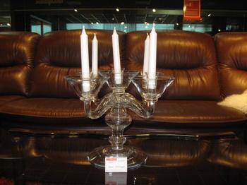 Изделия из стекла Подсвечник на 5 свечей за 12 750 руб