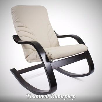 "Кресла-качалки Кресло-качалка ""Эйр"" экокожа за 13 900 руб"