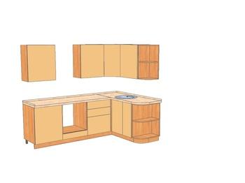 Кухонные гарнитуры Каприччио за 50 400 руб
