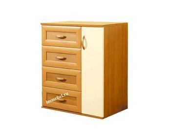 Комоды Комод 1 дверь - 4 ящика за 3 940 руб