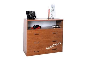 Комоды Комод 3 ящика - ниша за 3 440 руб