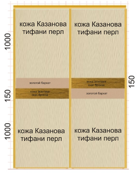 Корпусные шкафы-купе Фасад за 31 900 руб