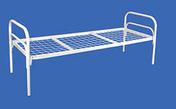 Кровать металлическая за 1800.0 руб