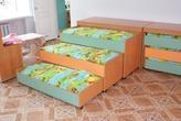 Кровать 3-х секционная выкатная с крышкой за 10060.0 руб
