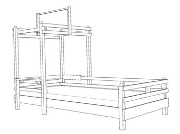Детские кровати Кровать с шатром за 25 310 руб