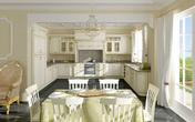 Кухня с итальянскими фасадами за 24000.0 руб
