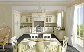 Кухонные гарнитуры Кухня с итальянскими фасадами за 24 000 руб