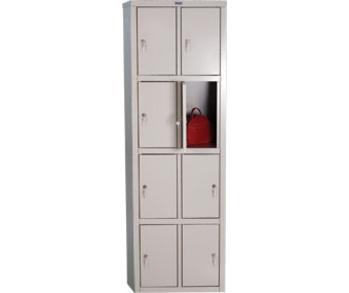 Сейфы и металлические шкафы Шкаф для раздевалок LE-24 за 7 370 руб
