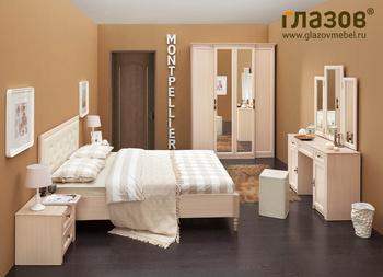 Спальни Модульный спальный гарнитур за 12 531 руб