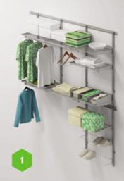 Шкафы для гостиной Комплект гардеробной ARISTO №1 за 18 500 руб