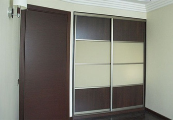 Встроенные шкафы-купе Модель №1 за 9 500 руб