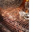 Мозаика из стекла и натурального камня за 580.0 руб