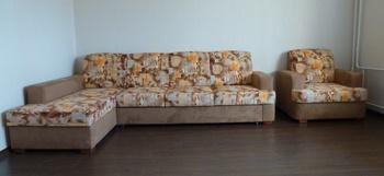 """Комплекты мягкой мебели Диван угловой с креслом """"Крокус"""" за 47 000 руб"""